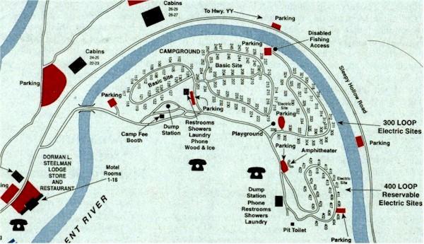 Montauk State Park Map My Blog