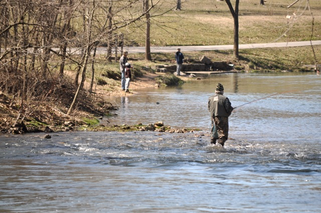 Calendar of events for Bennett springs trout fishing